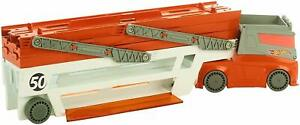 Hot-Wheels-Mega-Hauler-Truck-Car-Garage-Expandable-Levels-Kids-Toy-Playset-New