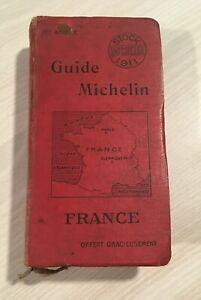 GUIDE-MICHELIN-FRANCE-1911-bon-etat