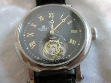 1 minute Flying Tourbillon Mechanical watch made by Robert Limited Edition Rare