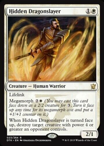 4x NM-Mint English Regular Hidden Dragonslayer Dragons of Tarkir magicmtg