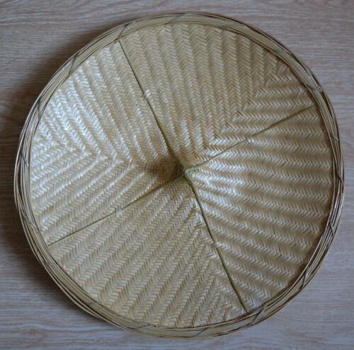 Dai Ethnic Handmade Hand-Woven Bamboo Cap//Hat