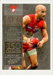2012-Select-AFL-Champions-Milestone-Card-MG62-Jarrad-McVeigh-Sydney
