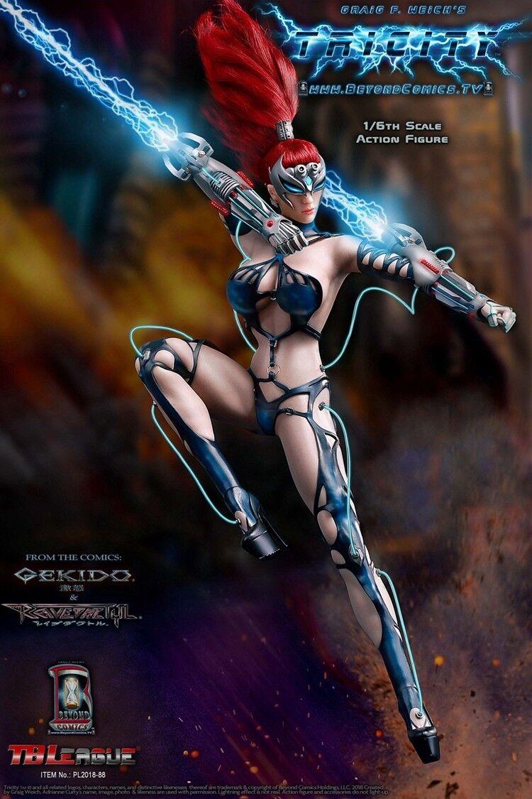 TBLeague 1 6 Goddess of Lightning TRICITY Action Figure Model Toys PL2018-88