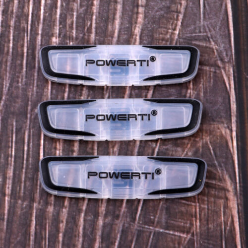 3Pcs Long Tennis Racquet Shock Absorber Vibration Dampeners Damper Part Set