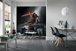 Wall Mural Photo Wallpaper STAR WARS KYLO REN Kids Room Decor