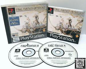Final-Fantasy-Anthology-IV-amp-V-Sony-Playstation-ps1-Spiel-PAL-ausgezeichnete-CIB