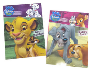 Image Is Loading Disney Animal Friends Kids Coloring Book Activity Books