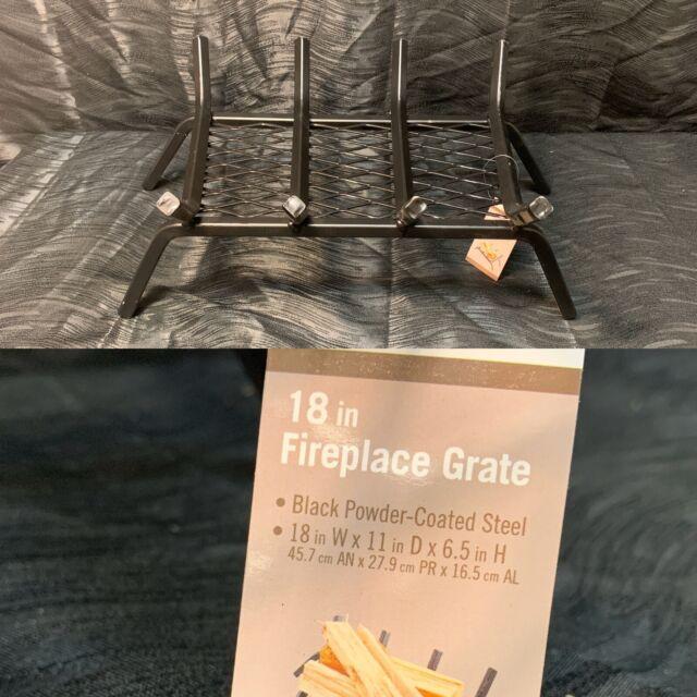 Steel 18 4 Bar Fireplace Grate Ember Retainer Steel Heavy Duty