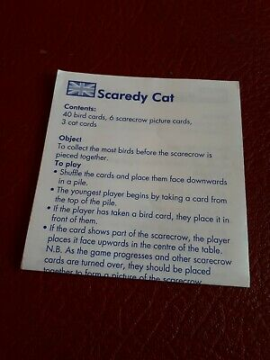 Orchard Toys Scaredy Cat Replacement Spare Rules Booklet Instructions Wa Ebay You will love learning about unusual animals, whether they live in the desert, under the sea, in the jungle or in the arctic! ebay