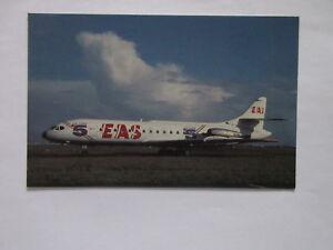 EAS-EUROPE-AERO-SERVICE-LA-CING-5-JET-POSTCARD-ORLY-AIRPORY-PARIS-FRANCE