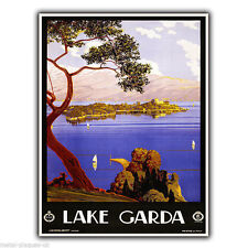 018ee49c4e0 item 4 LAKE GARDA ITALY Vintage Retro Travel Advert METAL WALL SIGN PLAQUE poster  print -LAKE GARDA ITALY Vintage Retro Travel Advert METAL WALL SIGN PLAQUE  ...