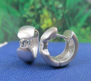 Creolen-Design-Ohrstecker-Silber-925-er-2-Zirkonia
