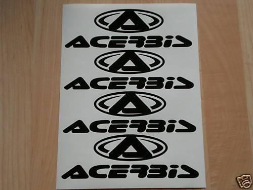 Acerbis Aufkleber Set Motocross Supermoto Sticker Cross Dirt Bike Pocket Quad