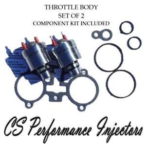 90lbs Hr Upgrade Gm Tbi Throttle Body Fuel Injectors 2 Set For 4 3 5 0 5 7 7 4 Ebay