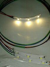 NEW Warm White LED strips for Woodland Scenics JP5700 Just Plug light hub, 2/set