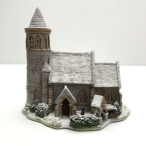 LILLIPUT-LANE-SNOW-ST-STEPHEN-039-S-CHURCH-With-BOX-amp-DEEDS