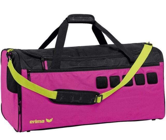 Erima GRAFFIC 5-C sports bag magenta/black *NEU* Top