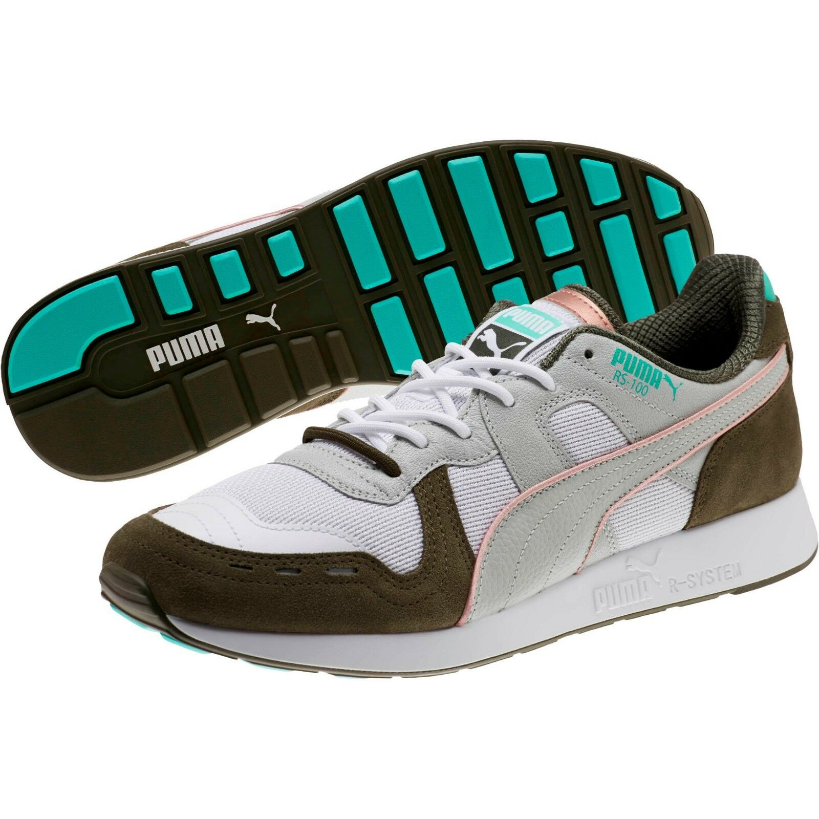 MEN'S PUMA x EMORY JONES RS-100 SNEAKERS BET ON YOURSELF NEW