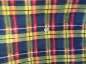 Image Is Loading Scottish Tartan Plaid Polar Fleece New Fabric 2