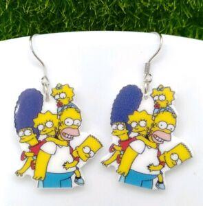 The Simpsons earrings