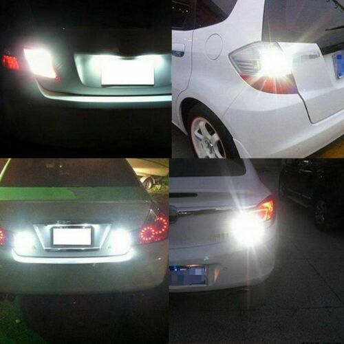 2x BULBS BACKUP REVERSE LIGHT T15 921 W16W WHITE XENON CANBUS FREE ERROR FOR BMW