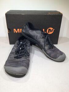 reputable site dec99 6e329 Details about Merrell Vapor Glove 3 Men's Sz 8 Black Minimalist Running  Shoes X20-1472