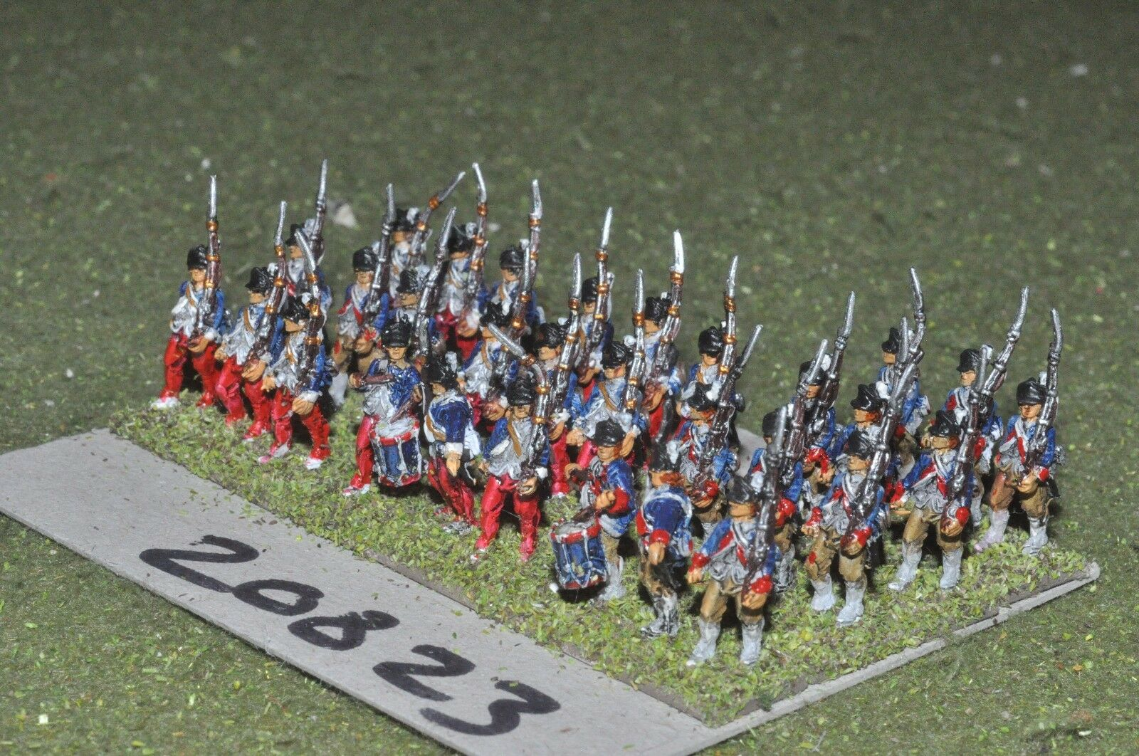 15mm AWI   american - infantry 30 figs - inf (20823)