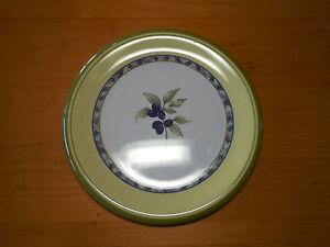 Image is loading Royal-Doulton-CARMINA-Melamine-Set-of-4-Salad- & Royal Doulton CARMINA Melamine Set of 4 Salad Plates 8 1/2\