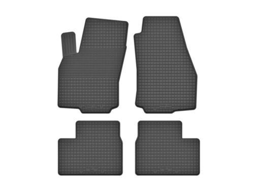 2004-2014 schwarz Automatten DX-24 Gummifußmatten für Opel Astra H Bj