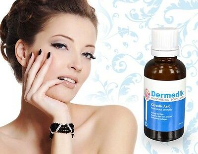 GLYCOLIC ACID MD GRADE CHEMICAL PEEL WRINKLE PORE REMOVAL 10%-70%