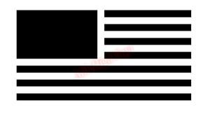 US-Flag-No-Star-Window-Glass-Vinyl-Decal-Sticker-Car-Truck