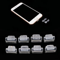 100pcs Earphone Charger Anti Dust Silicone Dock Plug Cap Stopper For iPhone 6 5S