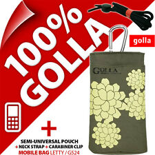 New Golla Green Phone Case Cover Pouch Bag For Nokia 108 220 225 Samsung E1270