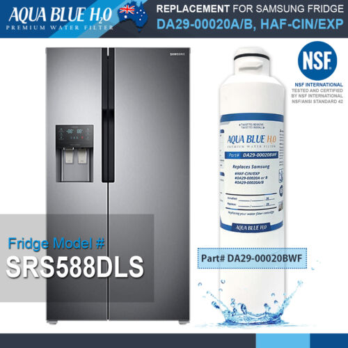 3 set of Samsung Fridge Filters  HAF-CIN//EXP DA29-00002WF SRF801GDLS /&SRF680CDLS