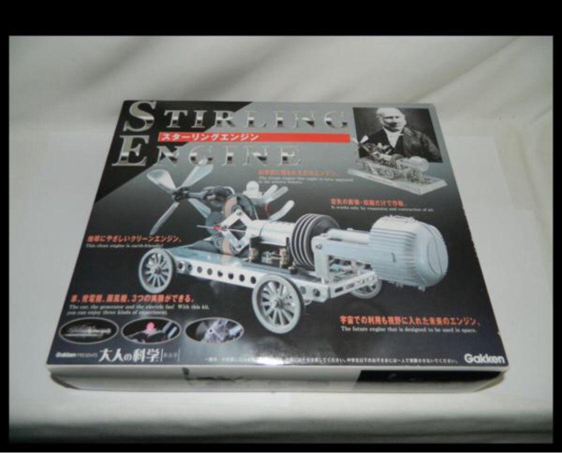 Gakken Otonano kagaku  Stirling Engine  Super Rare
