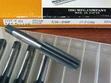 CHOOSE QUANTITY New 7//16-20 NF GH1 Hand Tap Ground Thread HSS Plug 4 Flute