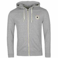 a3997d1098fb Converse Core Full Zip Hoody Jacket Mens Hoodie Sweatshirt Sweater Hooded  Top