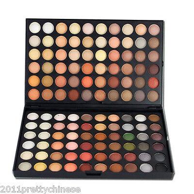 120 Colours Pro Nude Neutral Eyeshadow Eye Shadow Palette Makeup Set Make Up Box
