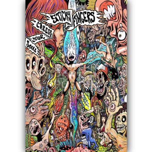 Sticky Fingers Custom Silk Poster Wall Decor