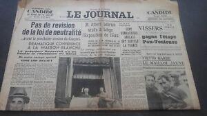 JOURNAUX-LE-JOURNAL-N-17074-JEUDI-20-JUILLET-1939-ABE