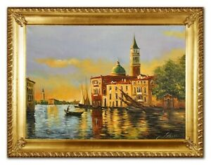 Oil-Painting-Pictures-Hand-Painted-with-Frame-Baroque-Art-G96409