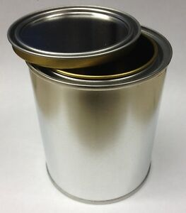 1 Empty Pint Steel Paint Can Round W Lid Paints Coatings