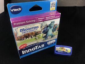 Lot-of-2-VTECH-INNOTAB-Monsters-University-Winnie-the-Pooh-Cartridge-Games