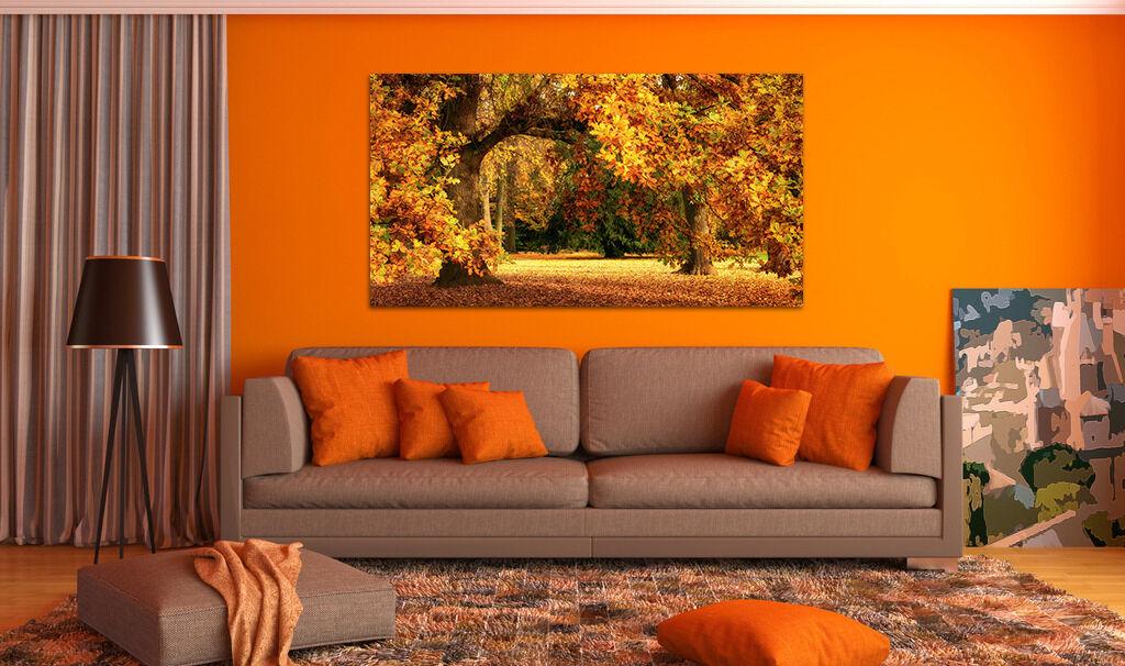 3D Herbst Wald 613 Fototapeten Wandbild BildTapete AJSTORE DE Lemon
