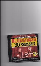 """TRADITIONAL BLUEGRASS, CD """"30 VINTAGE COLLECTION"""" NEW SEALED"""