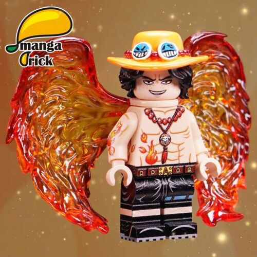 ⎡MANGA BRICK⎦ Pre-order Custom ONE PIECE  Portgas D Ace Lego Minifigure