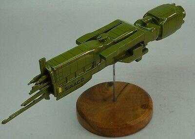 USS Sulaco Aliens Spaceship Desktop Wood Model Big New