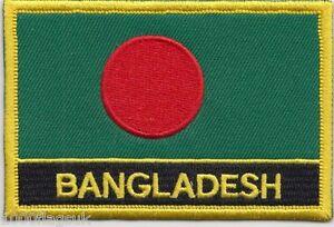 BANGLADESH-Parche-con-Bandera-Bordada-Coser-o-Hierro-En