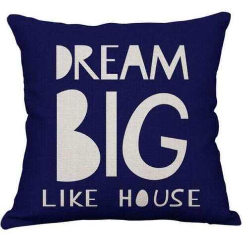 Cover Soft Cotton Linen Fabric Pillowcase Kids Room Sofa Decorative Pillow Case