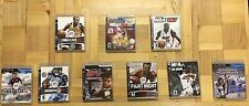 ps3 games - NBA Live 08, NBA 2k7 & 2k12, Fifa 13, Madden 08, UFC 2009, & more